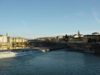 Firenze, view from Arno