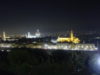 Firenze, view in the evening from Piazzale Michelangelo