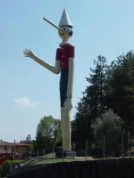 Pinocchio, the highest in the world