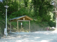 Pontecosi: parking area, picnic.